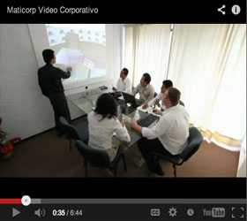 Video para Maticorp. VIDEO INSTITUCIONAL, VIDEO CORPORATIVO MÉXICO